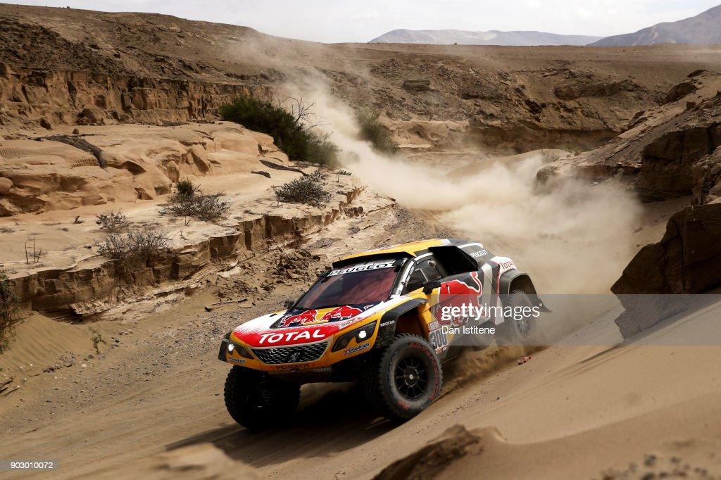 2018 Dakar Rally - Day Four : News Photo