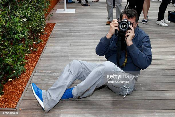 Stephane Plaza attends the 2015 Roland Garros French Tennis Open - Day Nine on June 1, 2015 in Paris, France.