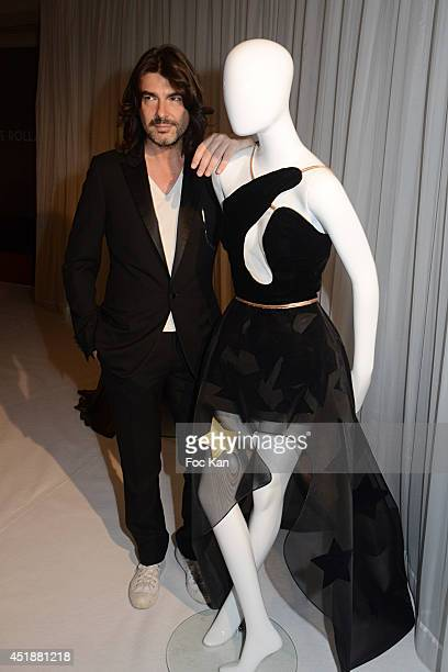 Stephane Rolland attends the Stephane Rolland Show as part of Paris Fashion Week - Haute Couture Fall/Winter 2014-2015 at Cinema Elysees Biarritz on...