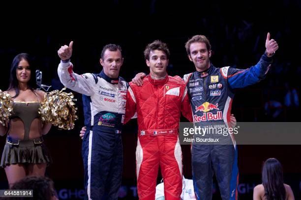 Stephane Sarrazin / Jules Bianchi / Jean Eric Vergne - - ERDF Masters Kart - Paris Bercy, Photo : Alain Bourdaux / Icon Sport