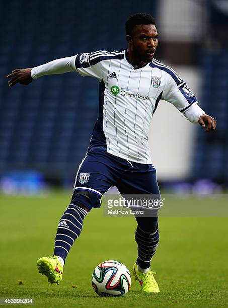Stephane Sessegnon of West Bromwich Albion in action during the Pre Season Friendly match between West Bromwich Albion and FC Porto at The Hawthorns...