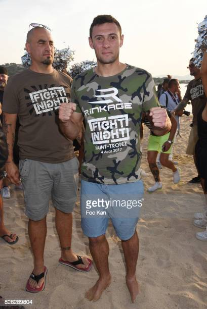StephaneÊ Susperregui attends the Fight Night Weighing Party at La Bouillabaisse Saint Tropez on August 3 2017 in SaintTropez France