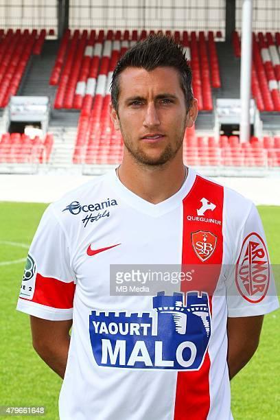 Stephane TRITZ Photo officielle Brest Ligue 2 2014/2015 Maxime Kerriou / Icon Sport/MB Media