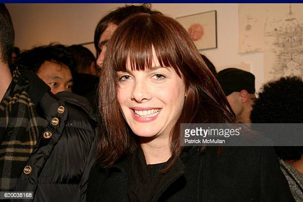 Stephani Dodds attends PAPERCUT Inaugural Exhibition to Celebrate the Print Making Process at Heist Gallery on December 13 2008 in New York City