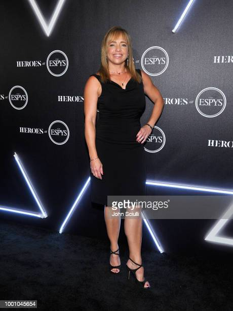 Stephania Bell attends HEROES at The ESPYS at City Market Social House on July 17 2018 in Los Angeles California
