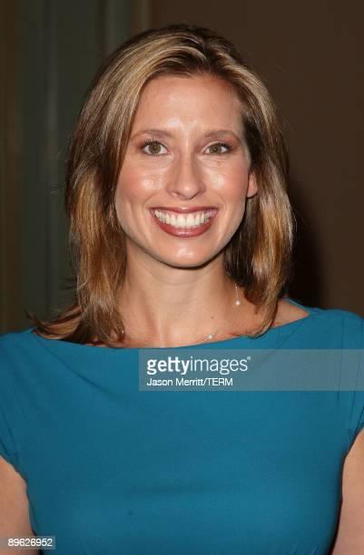 Stephanie Abrams arrives at NBC Universal's allstar press tour party on August 5 2009 in Pasadena California