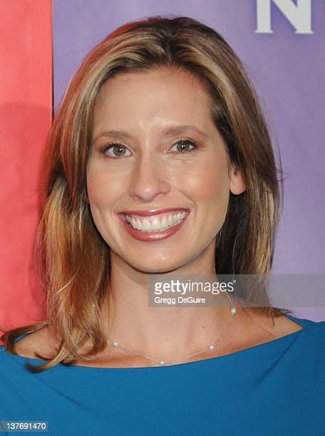 Stephanie Abrams arrives for the NBC Universal TCA Press Party at the The Langham Huntington Hotel Spa in Pasadena California on August 5 2009