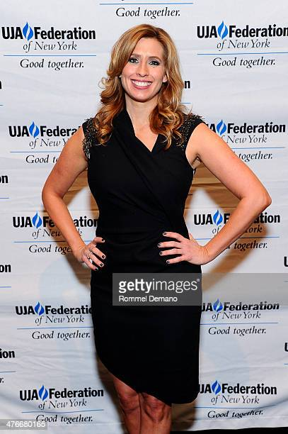 Stephanie Abrams attends the UJAFederation's 2014 Digital Media Award Celebration at The Edison Ballroom on March 4 2014 in New York City