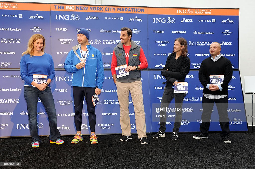 2013 ING NYC Marathon Press Conference : News Photo
