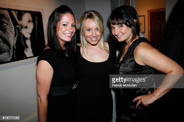 Stephanie Abrams Katie Heelon and Sarah Bank attend DREW DOGGETT Photography hosted by HELENA CHRISTENSEN NEIL GRAYSON to benefit Nepal Trust at...