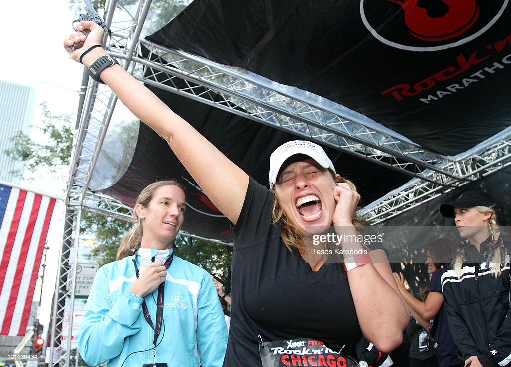 XSport Fitness Rock 'n' Roll Chicago Half Marathon : News Photo
