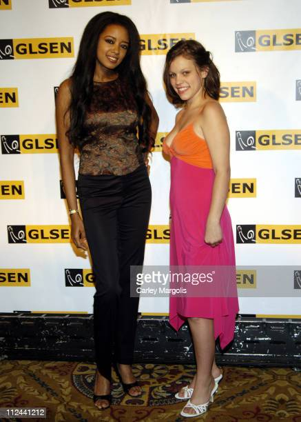 Stephanie Adams and Kerry Pacer during 2006 GLSEN Respect Awards in New York City New York United States