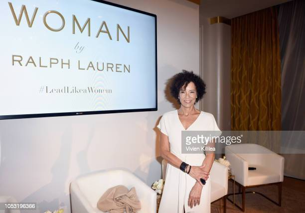 Stephanie Allain attends Ralph Lauren Fragrances x Women In Film Sisterhood Of Leaders Event on October 24, 2018 in Beverly Hills, California.