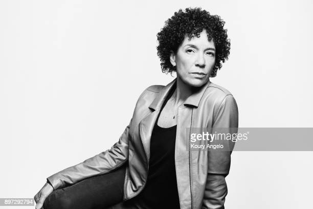 Stephanie Allain is photographed for The Hollywood Reporter on October 28, 2017 in Los Angeles, California.