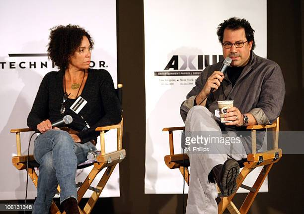 Stephanie Allain, Producer, Hustle and Flow, and Richard Gladstein, Producer, The Cider House Rules.