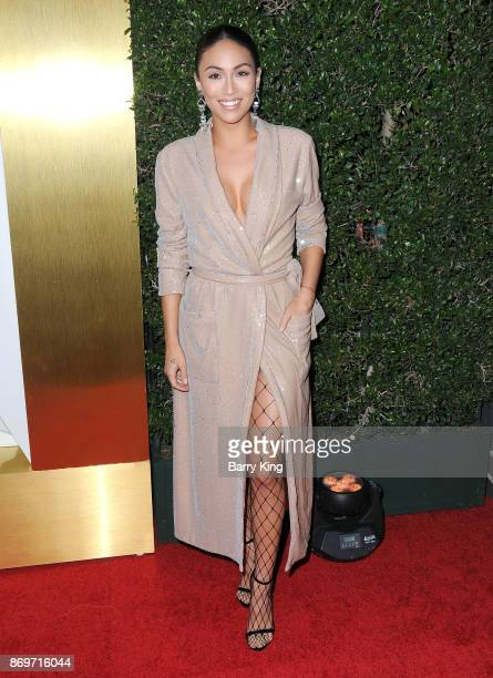 Stephanie Ann Shepherd attends #REVOLVEawards at DREAM Hollywood on November 2 2017 in Hollywood California