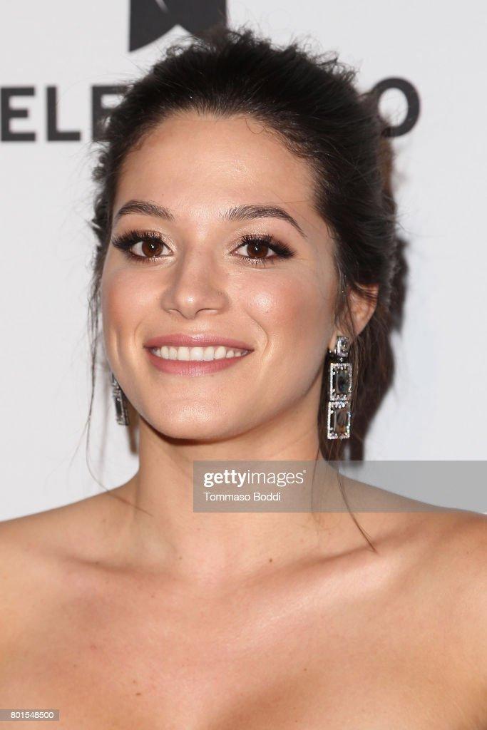 Stephanie Arcila attends the Screening Of Telemundo's 'Jenni Rivera: Mariposa De Barrio' at The GRAMMY Museum on June 26, 2017 in Los Angeles, California.