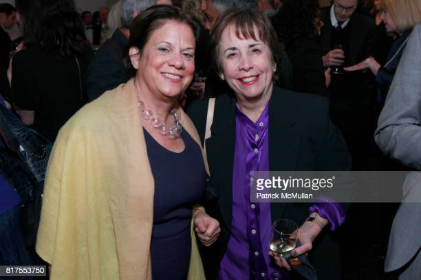 Stephanie Barron and Phyllis Tuchman attend SCULPTURE CENTER Gala Honoring LYNDA BENGLIS And PETER STEVENS at Metropolitan Pavilion on December 8...