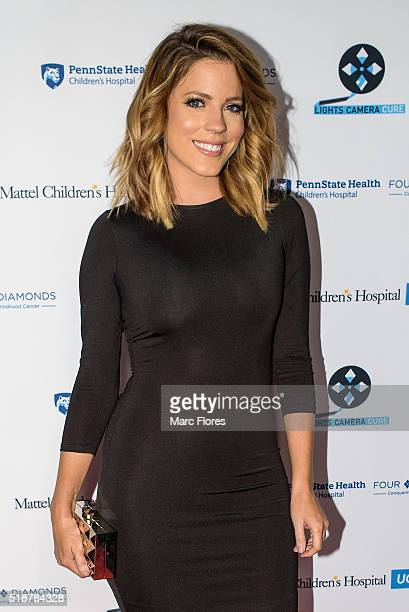 Stephanie Bauer arrives at Lights Camera Cure 5th Annual Hollywood Dance Marathon at Avalon on April 2 2016 in Hollywood California