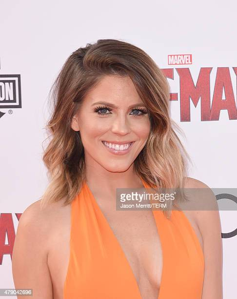 Stephanie Bauer arrives at the Los Angeles Premiere of Marvel Studios 'AntMan' at Dolby Theatre on June 29 2015 in Hollywood California