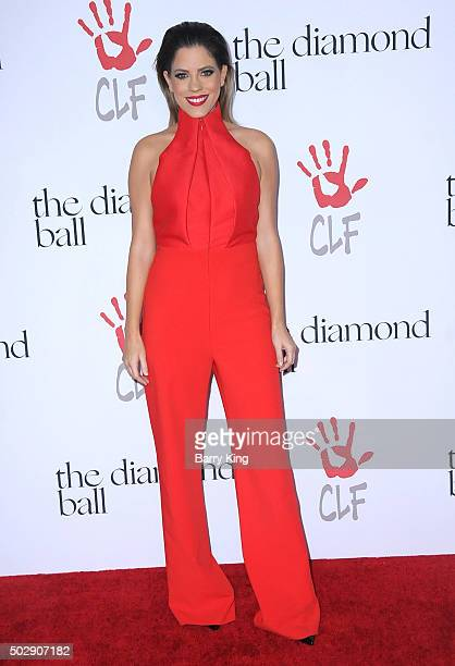 Stephanie Bauer attend the Rihanna And The Clara Lionel Foundation 2nd Annual Diamond Ball at The Barker Hanger on December 10 2015 in Santa Monica...