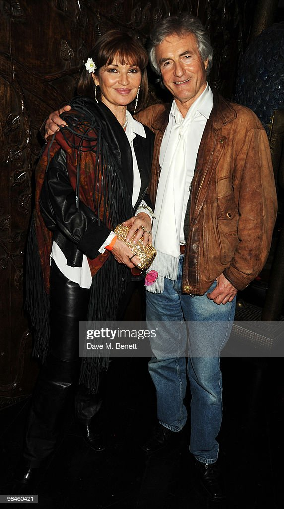 Stephanie Beacham and John McEnery attend the afterparty for Hair at the Gilgamesh on April 14, 2010 in London, England.