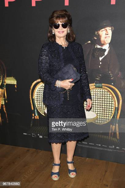 Stephanie Beacham attends the UK premiere of 'The Happy Prince' at Vue West End on June 5 2018 in London England