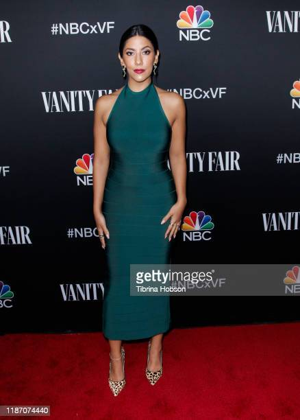 Stephanie Beatriz attends NBC and Vanity Fair's celebration of the season at The Henry on November 11, 2019 in Los Angeles, California.