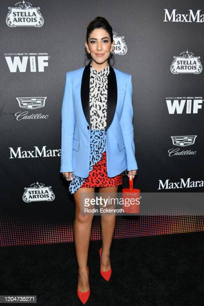 Stephanie Beatriz attends the 13th Annual Women In Film Female Oscar Nominees Party at Sunset Room Hollywood on February 07, 2020 in Hollywood,...