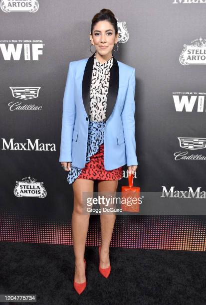 Stephanie Beatriz attends the 13th Annual Women In Film Female Oscar Nominees Party at Sunset Room Hollywood on February 07 2020 in Hollywood...