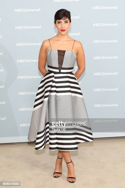 Stephanie Beatriz attends the 2018 NBCUniversal Upfront Presentation at Rockefeller Center on May 14 2018 in New York City