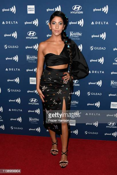 Stephanie Beatriz attends the 30th Annual GLAAD Media Awards at The Beverly Hilton Hotel on March 28 2019 in Beverly Hills California