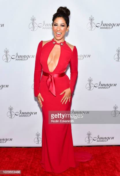 Stephanie Beatriz attends the 33rd Annual Imagen Awards at JW Marriott Los Angeles at LA LIVE on August 25 2018 in Los Angeles California