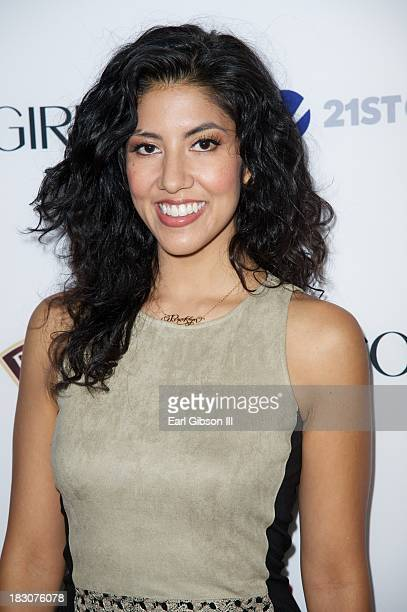 """Stephanie Beatriz attends the Latina Magazine """"Hollywood Hot List"""" Party at The Redbury Hotel on October 3, 2013 in Hollywood, California."""