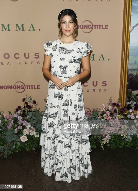 Stephanie Beatriz attends the Los Angeles premiere of Focus Features' Emma held at DGA Theater on February 18 2020 in Los Angeles California