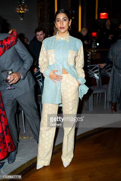 Stephanie Beatriz attends the Prabal Gurung fashion show during New York Fashion Week The Shows at the Rainbow Room on February 11 2020 in New York...
