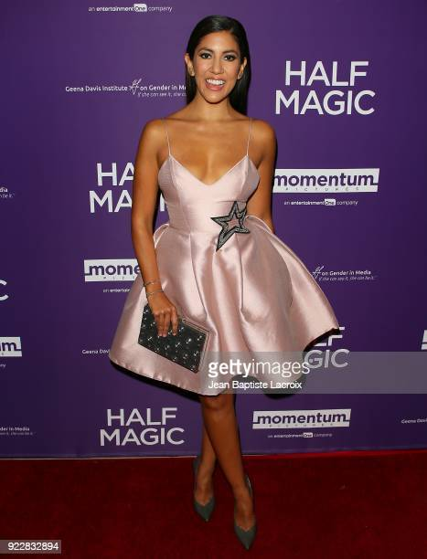 Stephanie Beatriz attends the premiere of Momentum Pictures' 'Half Magic' at The London West Hollywood on February 21 2018 in West Hollywood...