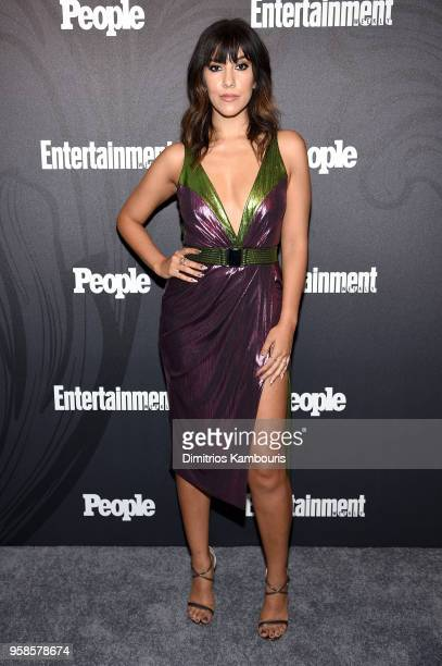 Stephanie Beatriz of Brooklyn 99 attends Entertainment Weekly PEOPLE New York Upfronts celebration at The Bowery Hotel on May 14 2018 in New York City