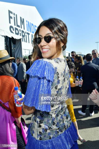 Stephanie Beatriz with FIJI Water and JNSQ at The 2020 Film Independent Spirit Awards on February 08 2020 in Santa Monica California