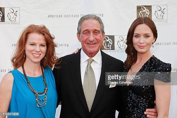 Stephanie Blank Atlanta Falcons Owner and CEO Arthur Blank and actress Emily Blunt attend the 5th annual Freeing Voices Changing Lives Gala...