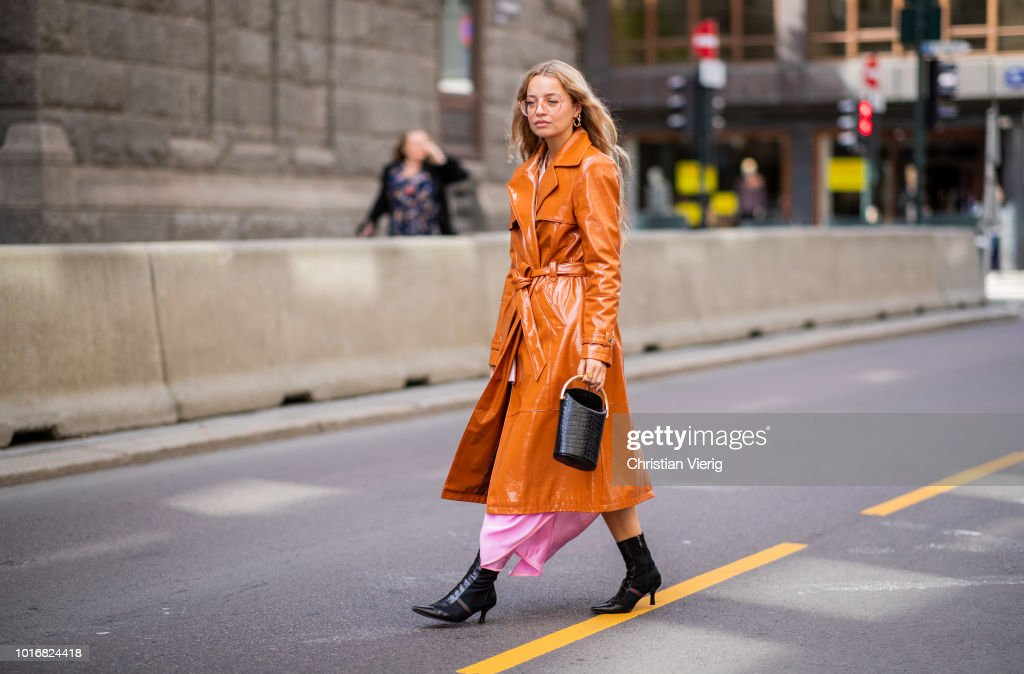 Street Style - Oslo Runway SS19 : News Photo
