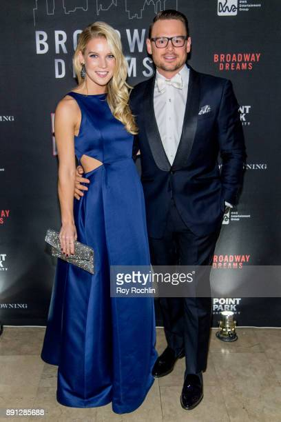 Stephanie Cane and Ryan Stana attend the10th Annual Broadway Dreams Supper at The Plaza Hotel on December 12 2017 in New York City