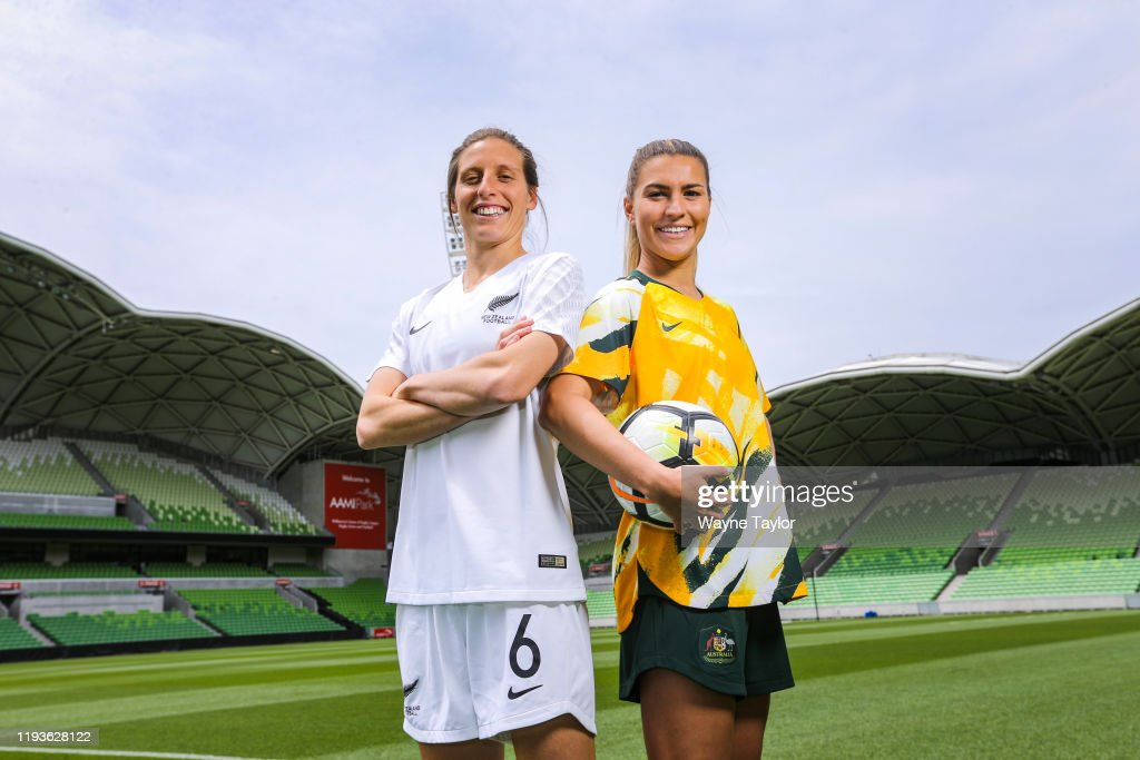 Announcement of Australia & New Zealand's Joint Bid to host the FIFA Women's 2023 World Cup : ニュース写真