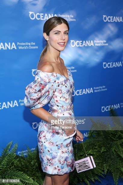 Stephanie Cayo attends the 10th Annual Oceana SeaChange Summer Party at Private Residence on July 15 2017 in Laguna Beach California