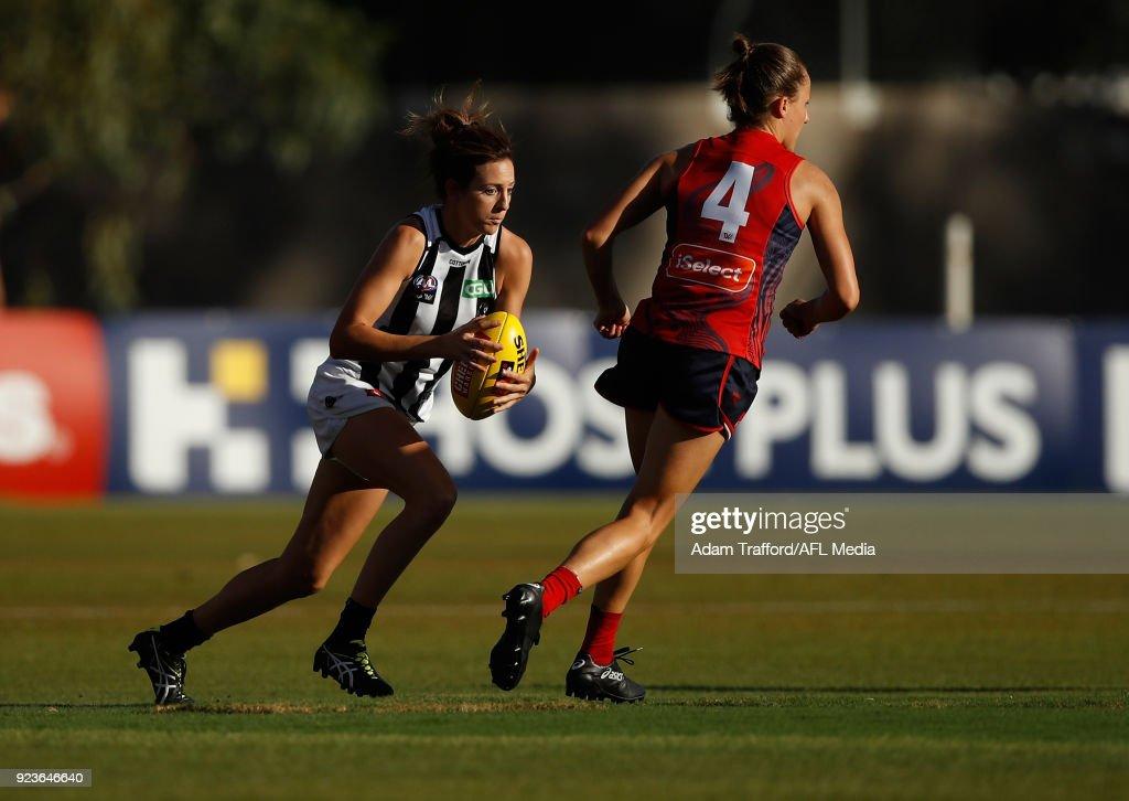 AFLW Rd 4 - Melbourne v Collingwood