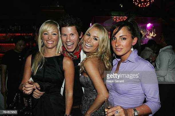 "Stephanie Conley, ""Getaway"" TV Presenter Jason Dundas, Natalie Michaels and Carla La Rosa attends Hemmesphere's 7th Birthday celebrations ""Tokyo..."