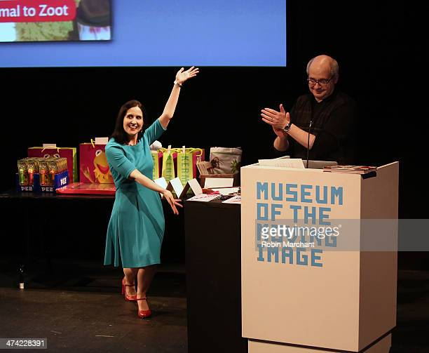 Stephanie D'Abruzzo and Author Craig Shemin President of the Jim Henson Legacy attend Museum Of Moving Image Presents 'The Muppet Encyclopedia' at...