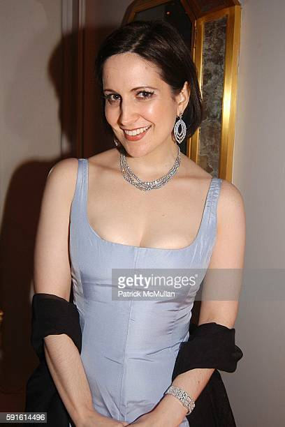 Stephanie D'Abruzzo attends An Intimate Dinner With Theatrical Flair to Benefit Broadway Cares/Equity Fights Aids at Harry Winston on November 14...