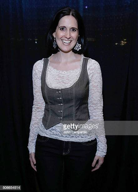 Stephanie D'Abruzzo attends BroadwayCon 2016 at the Hilton Midtown on January 24 2016 in New York City
