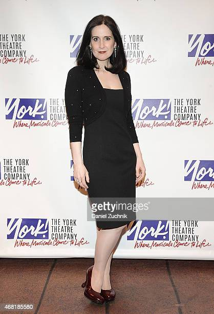 Stephanie d'Abruzzo attends The 100 Musicals In Mufti Benefit Concert at The Sanctuary at Saint Peter's Church at Citicorp on March 30 2015 in New...